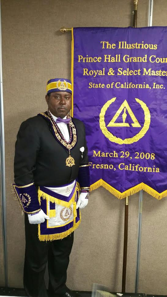 Most Illustrious Grand Thrice Illustrious Master Bernard Roberts